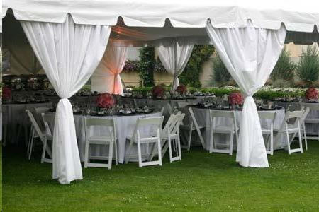 Where to find TENT, LEG DRAPE - 8  WHITE in Atlanta
