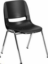 Where to find CHILD BLACK STACKING CHAIR  14  SEAT in Atlanta