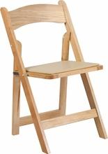 Where to find NATURAL WOOD FOLDING CHAIR W  PAD in Atlanta