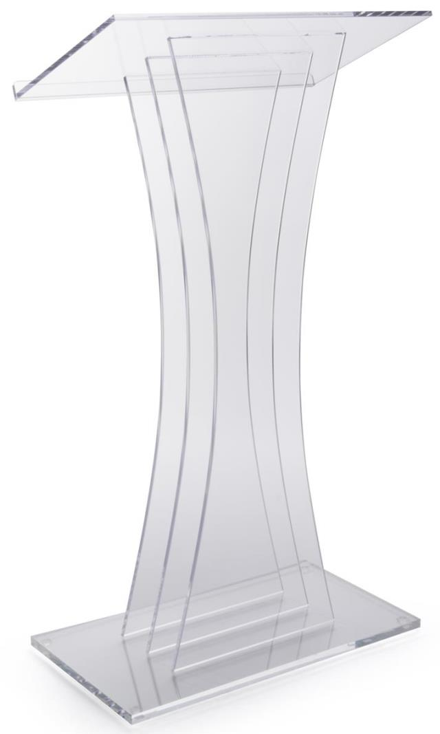 Where to find CLEAR ACRYLIC PODIUM in Atlanta