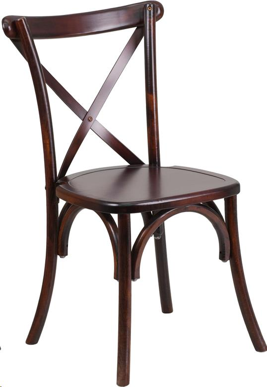 Where to find CROSS BACK CHAIR - FRUITWOOD in Atlanta