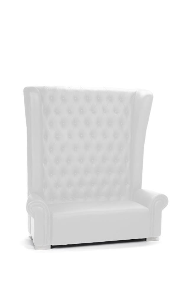 Where to find WHITE LEATHER TUFTED BANQUETTE in Atlanta