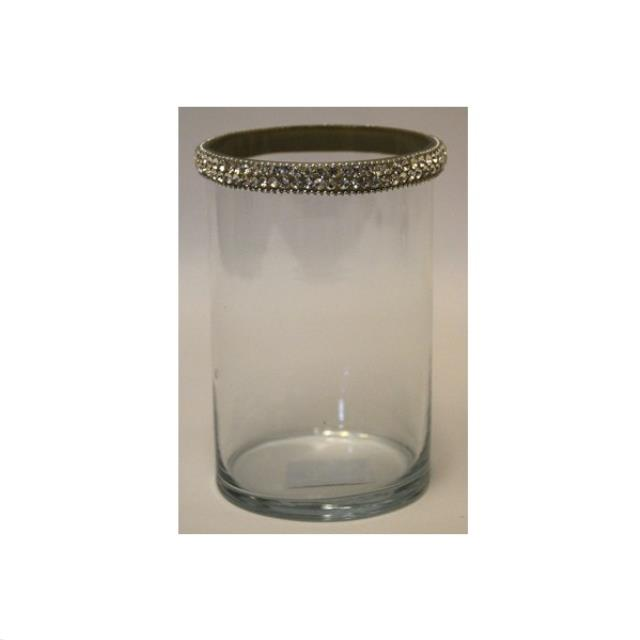 Where to find DECOR, GLASS CANDLE HOLDER w JEWELS 8.5 in Atlanta