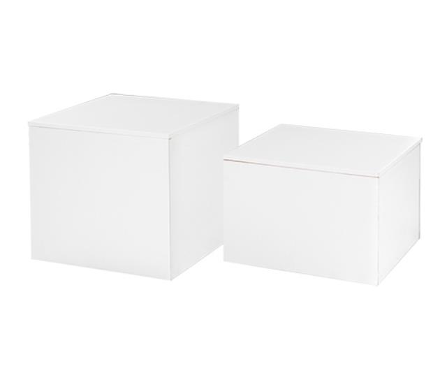 Where to find CUBE COCKTAIL TABLE - WHITE  16 H in Atlanta