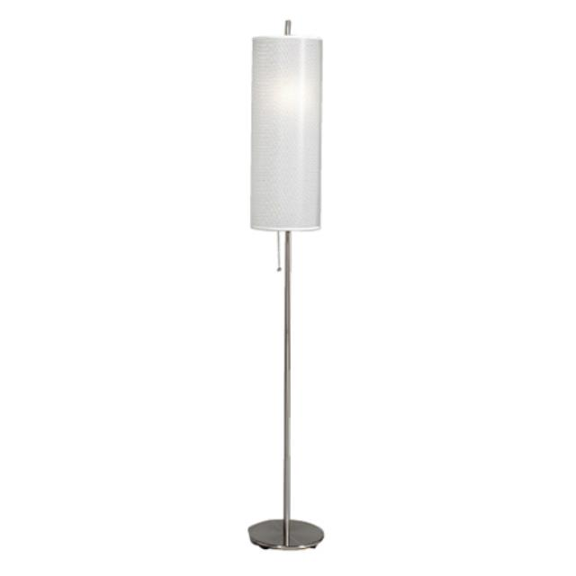 Where to find FLOOR LAMP - BRUSHED STEEL in Atlanta