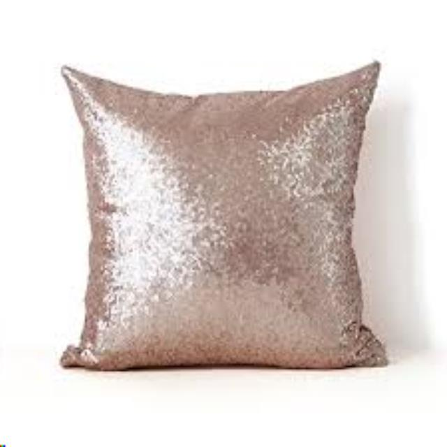 Where to find GLITZY THROW PILLOW, 18  - ROSE GOLD in Atlanta