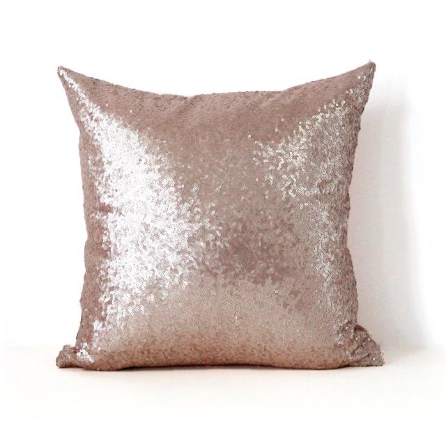Where to find GLITZY THROW PILLOW, 18  - CHAMPAGNE in Atlanta