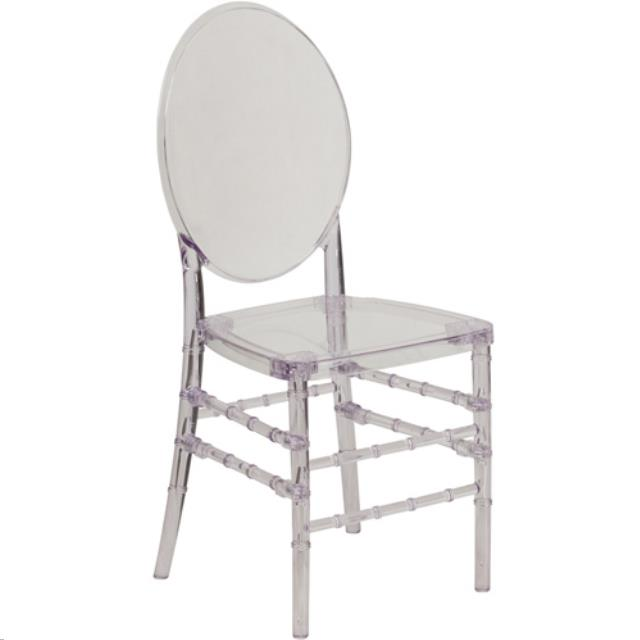 Where to find CHAIR, CLEAR GHOST CHAIR w  ROUND BACK in Atlanta