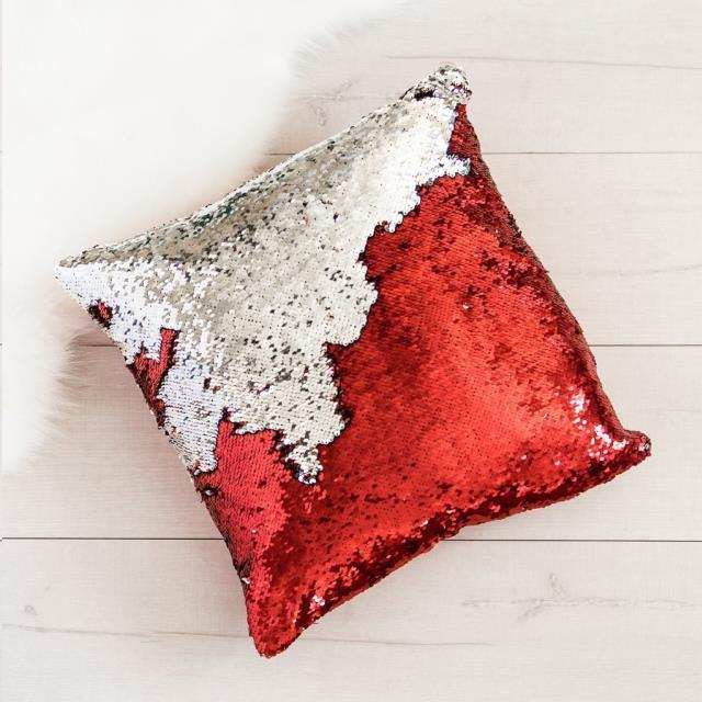 Where to find MERMAID SEQUIN THROW PILLOW, 16 in Atlanta