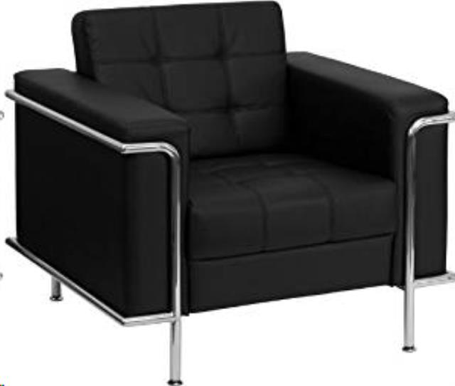 Where to find BLACK LEATHER CHAIR  LESLIE SERIES in Atlanta