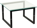 Rental store for CONTEMPORARY GLASS END TABLE in Atlanta GA