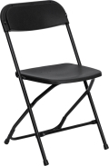 Rental store for BLACK PLASTIC FOLDING CHAIR  N in Atlanta GA