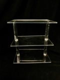 Rental store for DESSERT STAND, 3 TIER 12X8 - ACRYLIC in Atlanta GA
