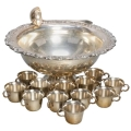 Rental store for PUNCH BOWL 4 GAL - SILVER PLATED in Atlanta GA