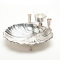 Rental store for BOWL, SHELL W TOOTHPICK HOLDER - SILVER in Atlanta GA