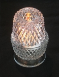 Rental store for GLASS, VOTIVE CANDLE HOLDER  DIAMOND CT in Atlanta GA