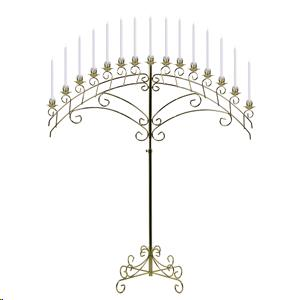 Where to find CANDELABRA, SILVER FAN 15 LIGHT in Atlanta