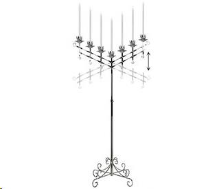 Where to find CANDELABRA, BRASS ADJUST. 7 LIGHT in Atlanta
