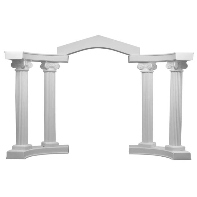 Where to find WEDDING, WHITE COLONNADE  9PC in Atlanta