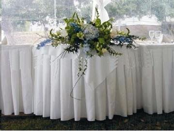 Rent Poly Table Skirt